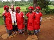 Kitchen Staff at Aleta Wondo, Ethiopia