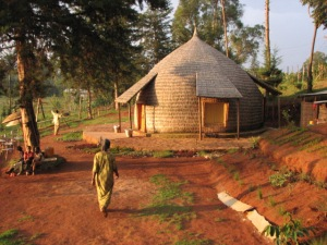 New hut in Aleta Wondo, Ethiopia
